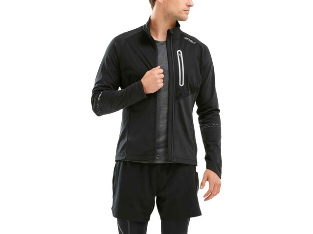 2XU Pursuit Thermal Hybrid Jacket Herre black/black